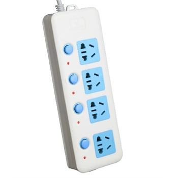 【包邮】公牛插座接线板独立开关gn-308四孔3米