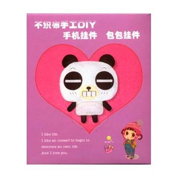 diy不织布小动物挂件 熊猫 a款