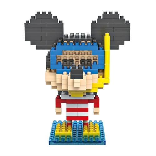 LOZ 俐智 迪士尼变装米奇系列(大盒) 米奇潜水装 乐高式钻石颗粒积木创意拼装玩具 9422-玩具童车-手机当当网