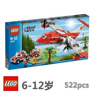 lego 消防飞机(lego 乐高 城市组 l4209)