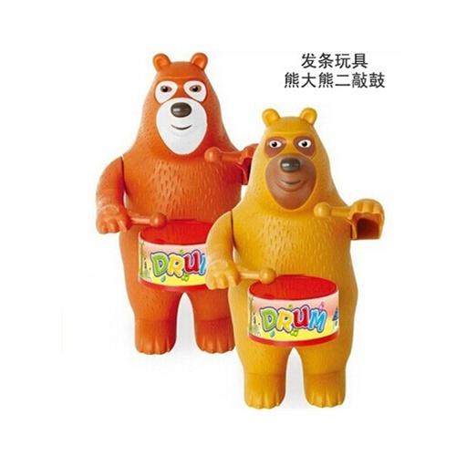 15款塑料发条上链动物人物益智手工玩具2345岁生日