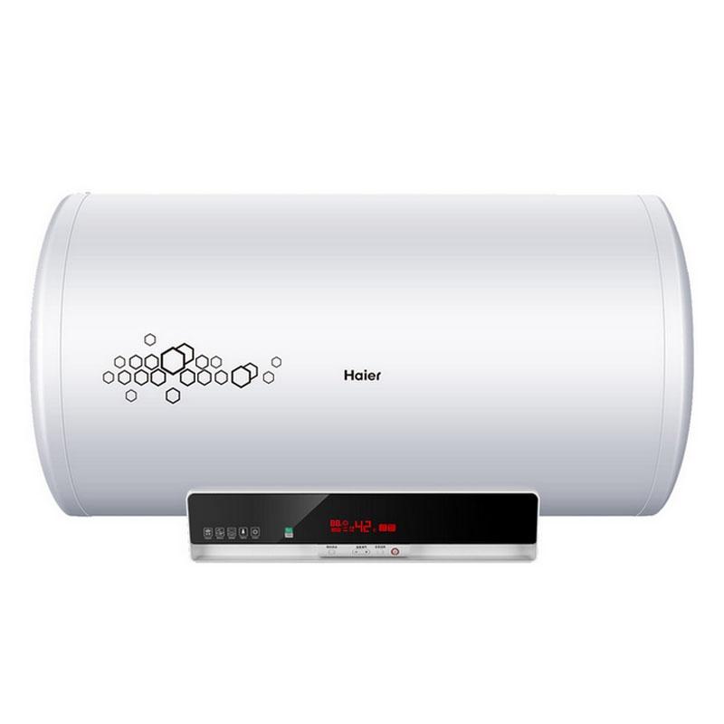 电热水器 es80h-k5(ze) 80l 80升海尔电热水器 可半桶加热 体型加粗
