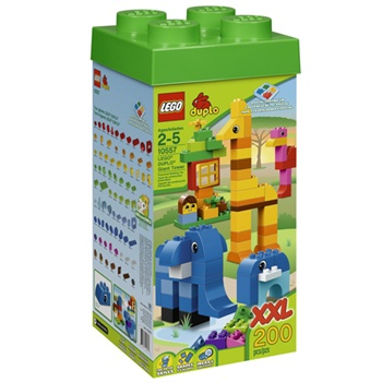 LEGO乐高 duplo得宝创意系列 高塔 L10557 ¥599-80= ¥519 再送一个lego小玩具