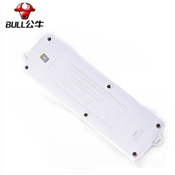 bull/公牛gn-e22 3米接线板插座 冠能系列 一开一控 吸塑