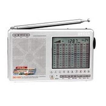 德劲de1103收音机调频/中波/短波/长波国际接收