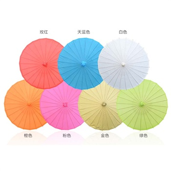 diy手绘伞古典伞古风伞装饰伞