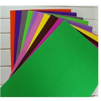 泡沫纸 压花器专用纸 彩色a4海绵纸智慧树波波手工必备 手工纸 压花