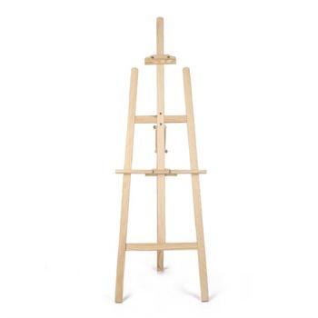 木质画架木制画架子画板架展示架木展架批发