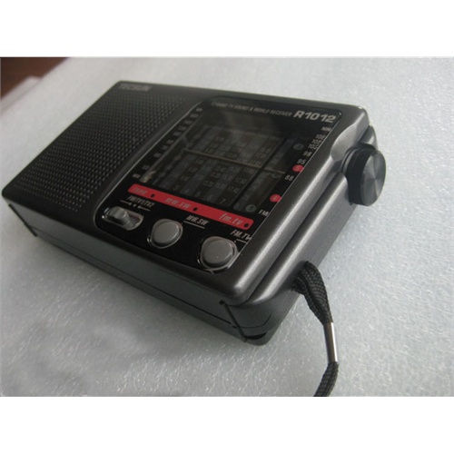 德生收音机 r-1012 12波段调频/短波/中波/电视伴音收音机 r1012优质