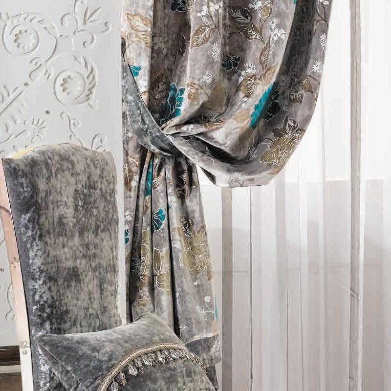 欧式窗帘幔头款式图片