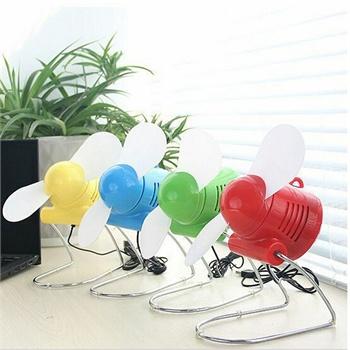 办公桌面宿舍usb时尚风扇夏季桌面装饰小风扇迷你可爱