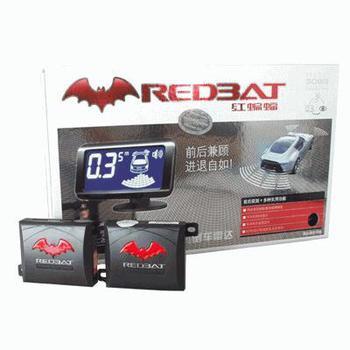 铁将军红蝙蝠倒车雷达3088六探头(万年历+电子钟+车内外温度显示)