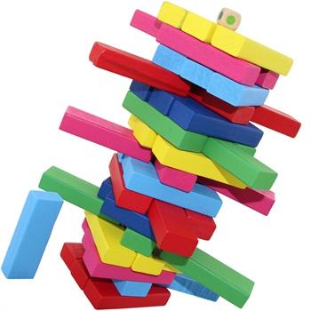 【乐优右脑塑料/硬质积木】彩色数字算术生肖层层叠叠