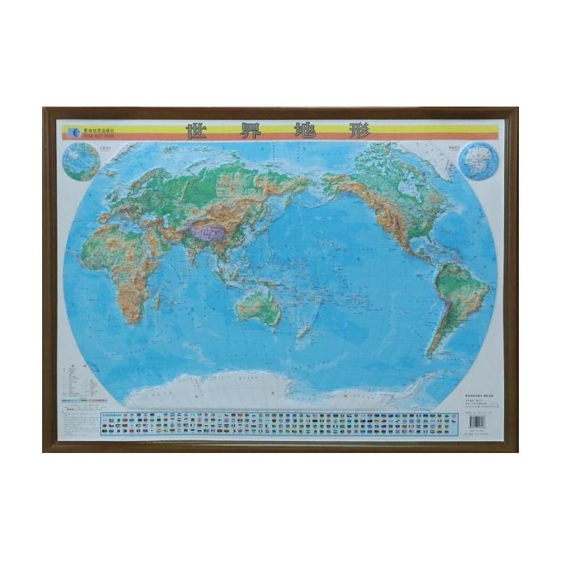 外国人笔下手绘杭州地形地图