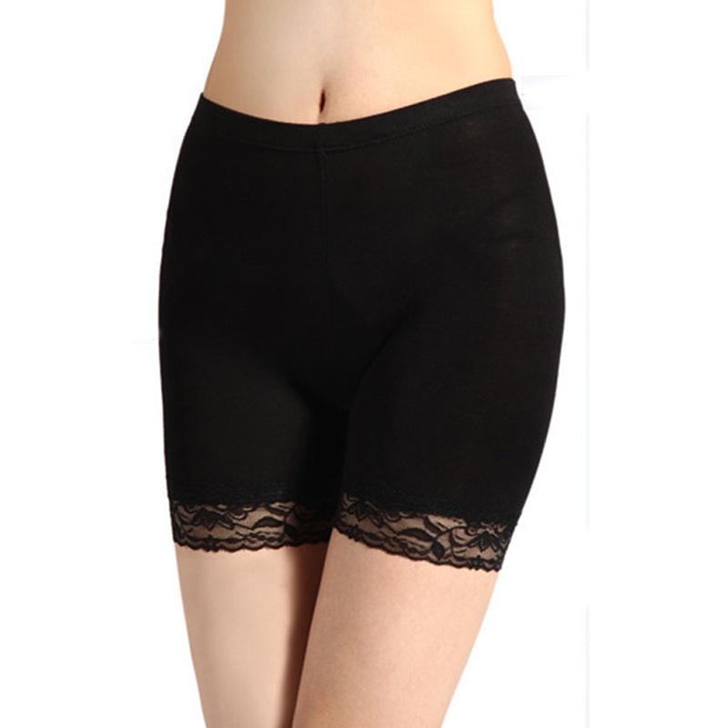 2015夏季新款女士蕾丝短裤夏打底裤花边三分安全裤防