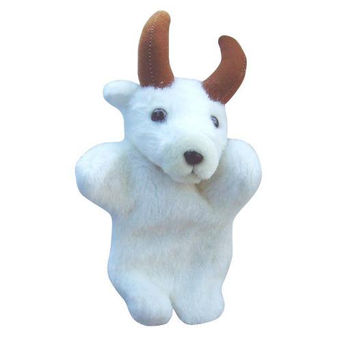 可爱小山羊手偶-白色