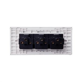 [工厂直营]插座 118型墙壁开关多功能插座面板 三三三插9孔九孔G04Z356(送底盒)图文描述_公牛开关插座详情介绍 - 挖东西