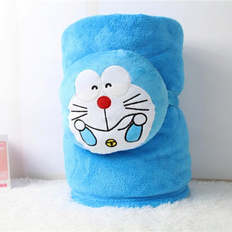 卡通空调毯抱枕