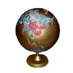 博目地球仪:32cm金色仿宝石地球仪(镀金座)113216