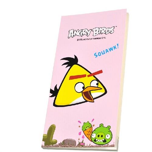 愤怒的小鸟创意可爱便签本
