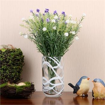 明波纯手工艺术玻璃花瓶