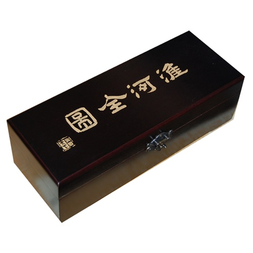包装为精美黑胡桃木实木盒