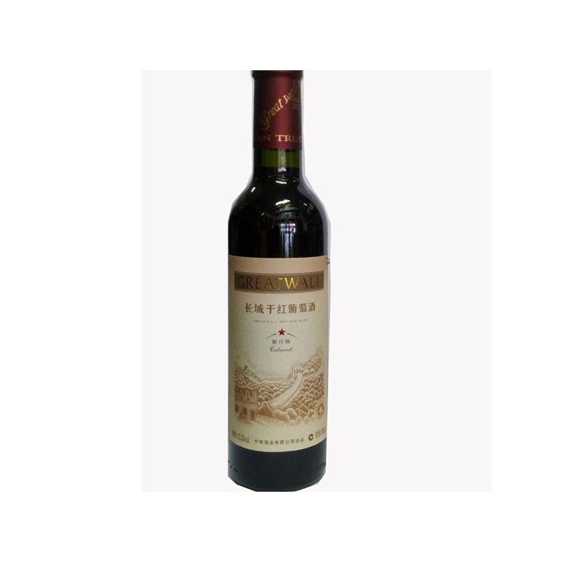 长城干红葡萄酒 一星 解百纳