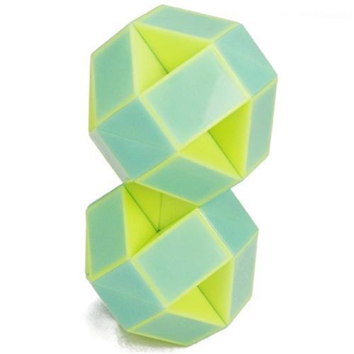 魔尺72段海龟玩法图解 - 百变魔尺变球玩法24段
