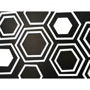 墙饰 壁饰 背景墙 六边形白色商品最相近的商品 缤纷彩绘数字油画diy