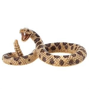 schleich 思乐 野生动物系列 响尾蛇 仿真塑胶动物模型收藏玩具 s14