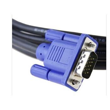 乐星vga连接线3m 投影机电脑数据线显示器