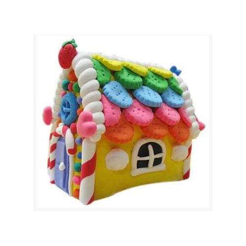 卡乐淘超轻粘土糖果屋蛋糕c-spc232儿童益智玩具diy手工橡皮泥