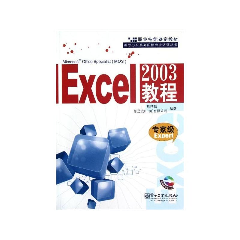 【Excel 2003教程专家级EXPERT 戴建耕 等