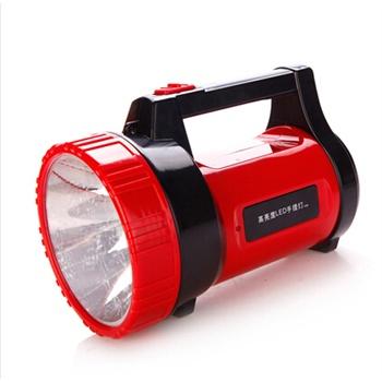 (包邮)雅格手提灯 yg-5504强光巡逻探照灯应急矿灯手电筒 led充电灯