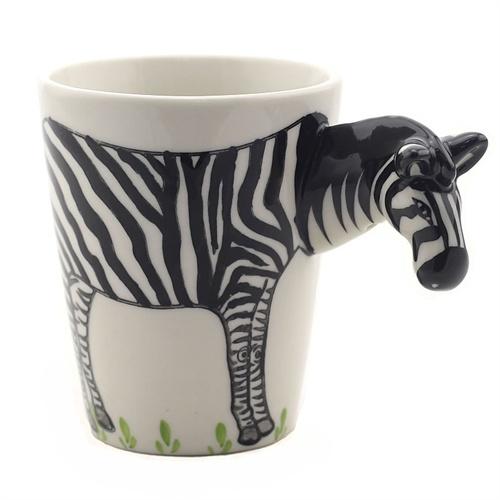 3d动物立体纯手绘陶瓷马克杯 咖啡杯 陶瓷杯子 茶杯 夏季水杯 情侣