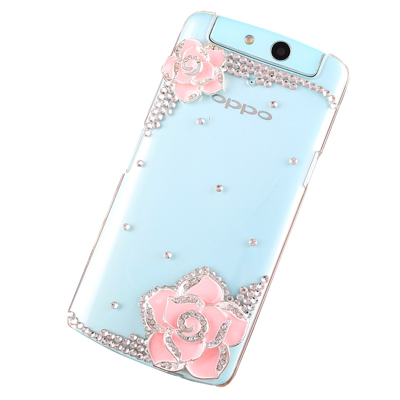 oppo n1mini手机壳n5117外壳n1迷你手机保护套nimini水钻透明外壳