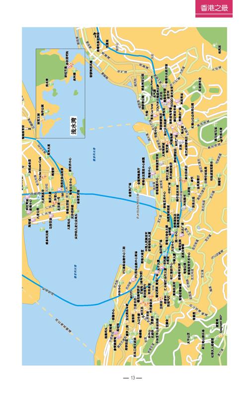 香港坪洲岛地图