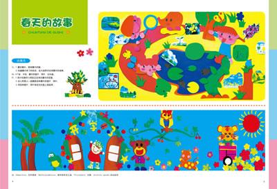 幼儿园主题墙饰设计--玛瑙篇