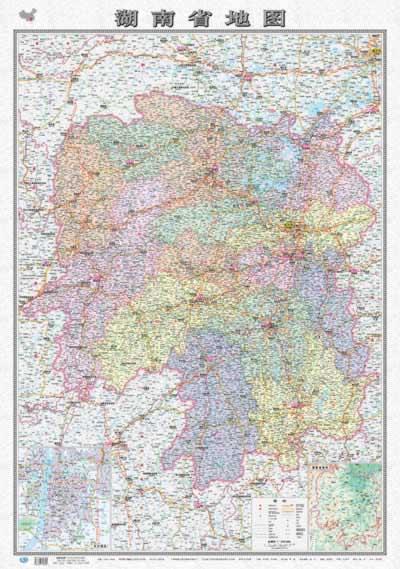 地图·湖南省地图