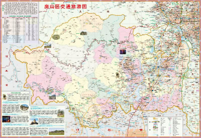 涿州双塔地图高清版