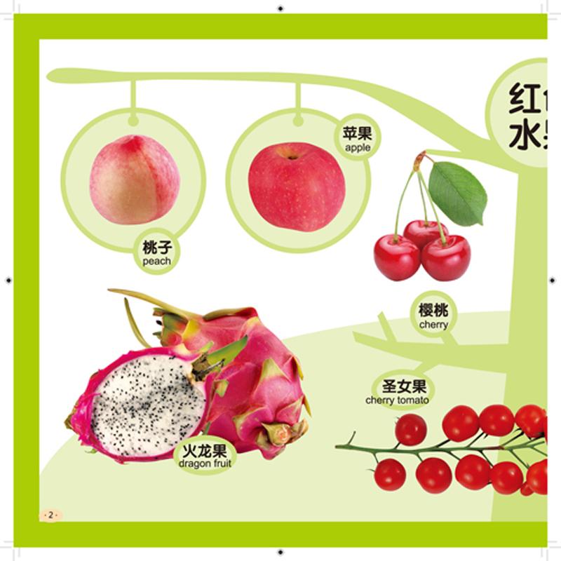 宝宝早教启蒙全书--水果蔬菜