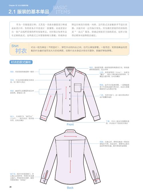 时装设计师工作手册:人体模板与效果图表现