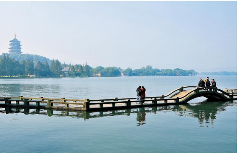壁纸桌面苏杭园林风景