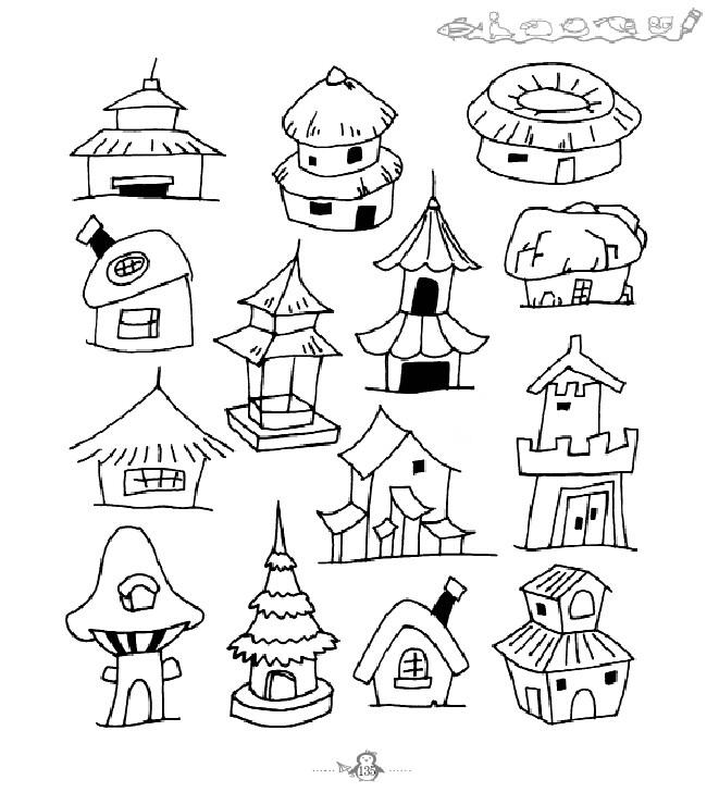 实用绘画推荐教程(一套4本)(趣味简笔画,巧学简笔画,儿童简笔画,创意图片