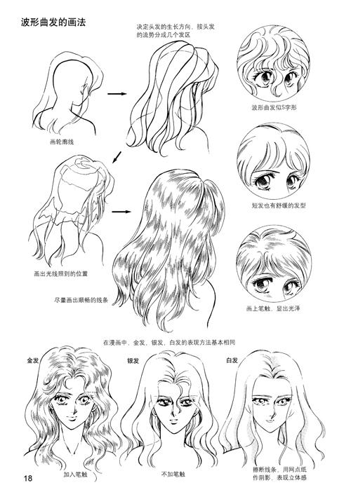 动漫少女手绘教程图片 动漫少女手绘教程