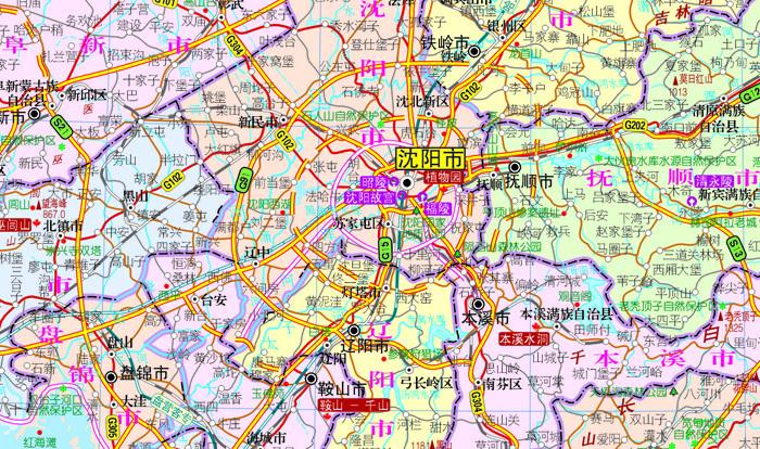 香港特别行政区 香港特别行政区全图