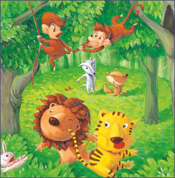 讲述了森林里的动物们摆擂台选择最强大的动物,最后最厉害的大象居然