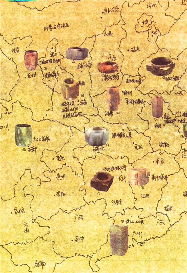 """中国考古地图(""""博识教育""""泛读文库)"""