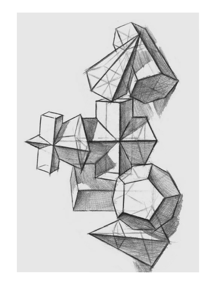 手画正方体和长方体的方法与步骤图片