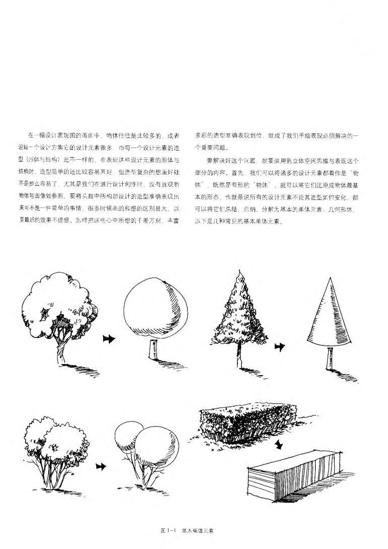 园林景观手绘设计表现(实战应用篇)